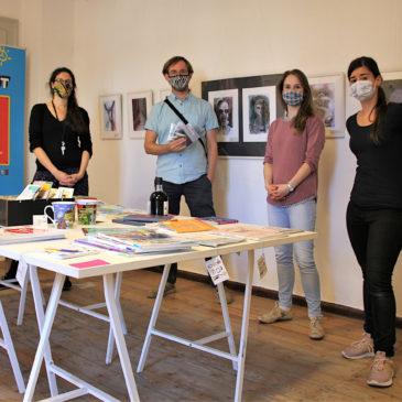 Musik in Bildern: Ausstellung in Weimarer Kreativ-Etage eröffnet